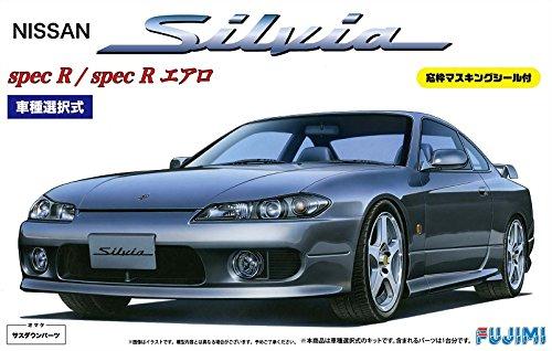Fujimi 1/24 inch up series No.24 S15 Silvia Spec R / Aero window frame with masking seal(Japan ()