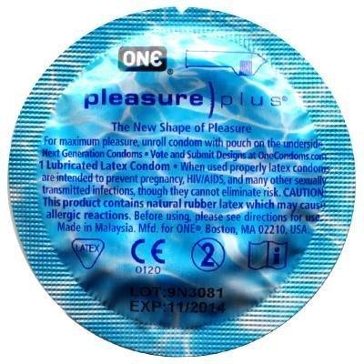 ONE Pleasure Plus Condoms 48 Pack