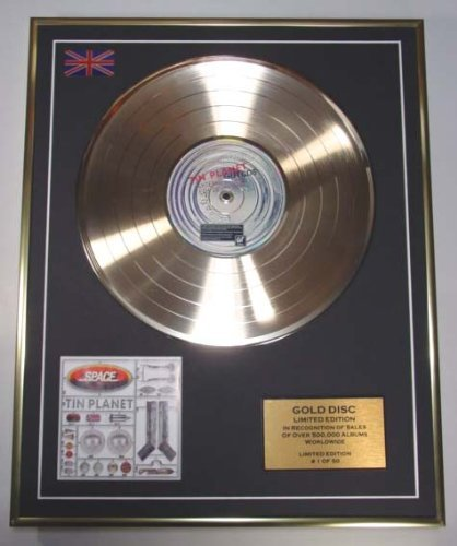 EC SPACE/LIMITED EDITION/CD GOLD DISC/ALBUM 'TIN PLANET'/(Space)