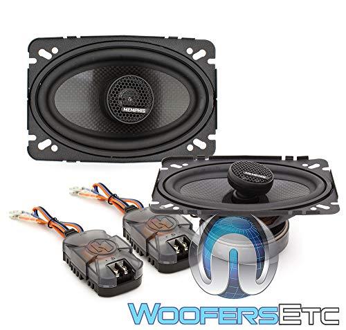 Memphis Audio 15-MCX46 Car Stereo MClass Series 4x6 2-way Co
