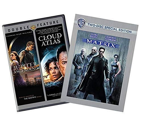 - The Wachowski Director DVD Collection: The Matrix (2-Disc Special Edition) / Cloud Atlas / Jupiter Ascending