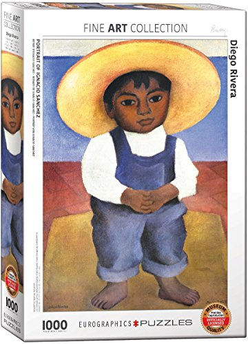 EuroGraphics Portrait of Ignacio Sanchez by Diego Rivera (1000 Piece) Puzzle