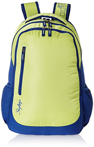 Skybags Blitz 26.5 Ltrs Green Casual Backpack (BPBLIFS3GRN)