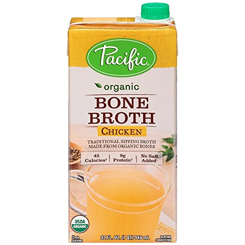 Pacific Foods, Organic Bone Broth - Chicken (Pack of 2)