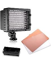 Neewe CN-126 126PCS LED Dimmable Ultra High Power Panel Digital Camera / Camcorder Video Light, LED Light for Canon, Nikon, Pentax, Panasonic, Sony, Samsung and Olympus Digital SLR Cameras