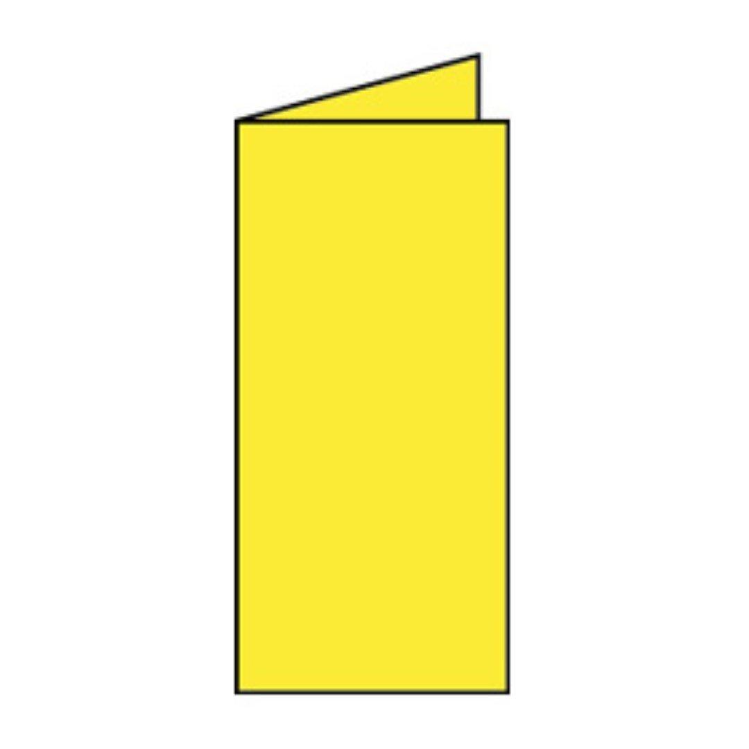 Rössler Papier - - Paperado-Karte DL hd, Soleilgelb B07CX4KGGB   Klein und fein