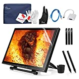 Ugee 19'' Graphics Drawing Pen Display Monitor with 2 Original Rechargeable Pens, 2 USB Cables and Mini Displayport DP to VGA Adapter For MacBook Pro Air iMAC