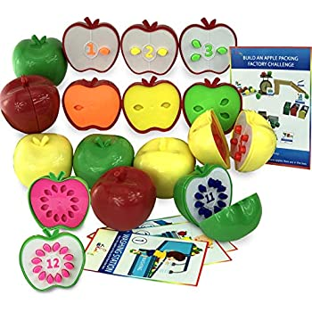 skoolzy counting toddler games stem apple factory learning toys for 3 year olds to. Black Bedroom Furniture Sets. Home Design Ideas