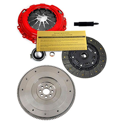 EFT SPORT 1 CLUTCH KIT & HD FLYWHEEL SET for RSX TSX ACCORD CIVIC Si K20 K24 ()
