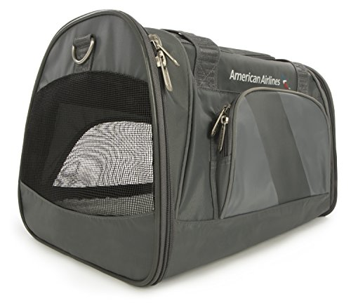 (Sherpa American Airlines Duffel Airline Approved Pet Carrier, Medium, Charcoal )