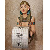 Toilet Paper Holder - Priestess A-Kah-Kah-Loo Egyptian Bathroom Decor - Toilet Paper Roll - Bathroom Wall Decor