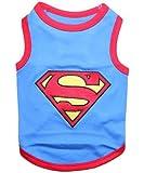 Parisian Pet Superman Dog T-Shirt, X-Small