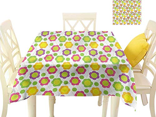 Davishouse Elegance Engineered Tablecloth Applique Design Great for Buffet Table W36 x ()