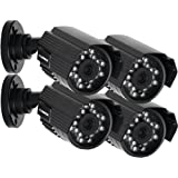 LOREX CVC7572BPK4B 4-Pack High Resolution Cameras