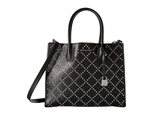 Michael Kors Mercer Grommeted Large Leather Tote - Tote Grommet Bag
