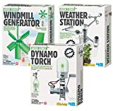 4M Green Science Windmill Generator with Weather Station & Dynamo Torch