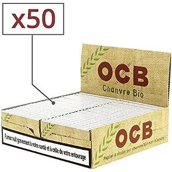 OCB Organic Hemp Rolling Papers (50 Packs)