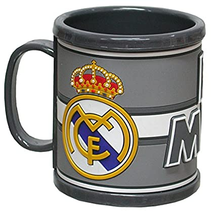Taza Real Madrid rubber 3D
