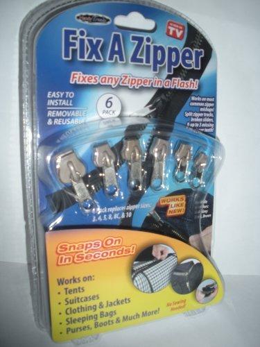 Fix a Zipper As Seen on Tv Sixpack Gold
