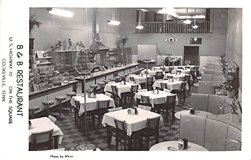 B B Restaurant Cookeville Tennessee Postcard At Amazons