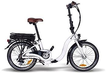 50,8 cm de bicicleta eléctrica plegable E-GO! W 250 W E