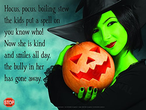 Hocus Pocus Extra LARGE Laminated Poster Perfect For October With Bullying Prevention and (Anti Halloween Poster)