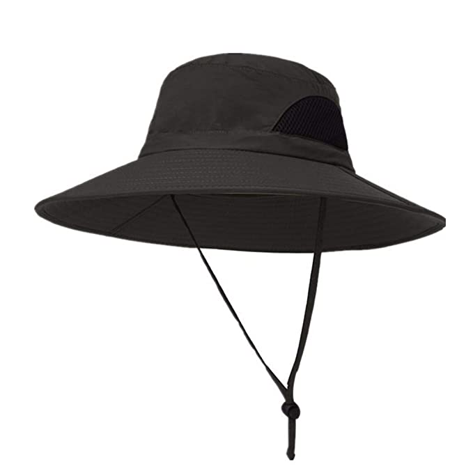 3bc948027 iCJJL Sun Hat for Men/Women, Summer Wide Brim Bucket Hat Waterproof ...