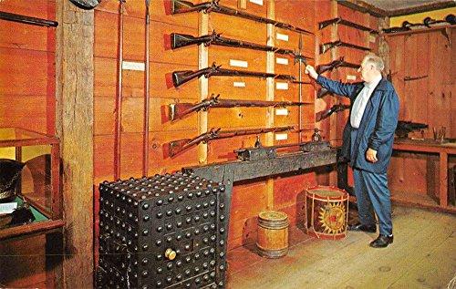 Old Sturbridge Village Massachusetts Gun Museum firearms display pc Y11535