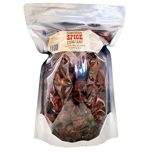 Carolina Reaper Peppers - Oven Dried (8 Oz) by Sonoran Spice (Image #2)