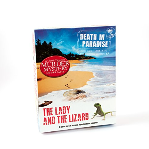 Death In Paradise Murder Mystery Dinner Party Game by Paul Lamond Games