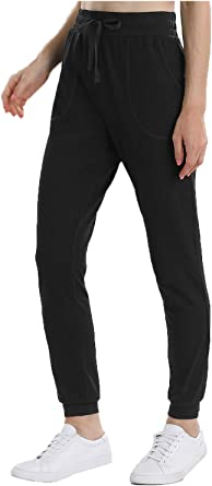 iClosam Women Sweatpants Joggers Casual Sports Trousers Tracksuit Bottoms Pants with Pockets for Running Workout Gym Yoga S-XXL