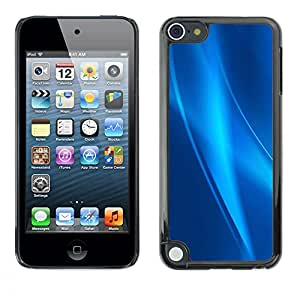 Planetar® ( Strings Of Blue Ice ) Apple iPod Touch 5 Fundas Cover Cubre Hard Case Cover