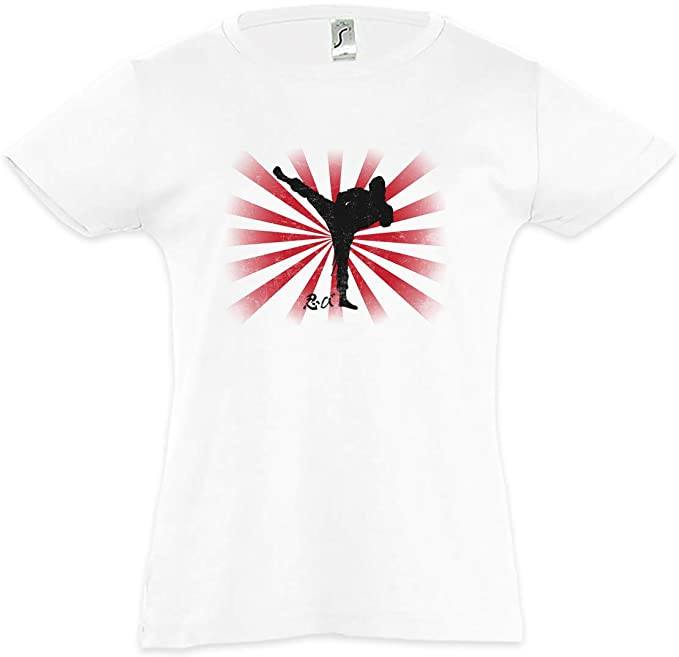 Urban Backwoods Ninja II Camiseta para Niñas Chicas niños T ...