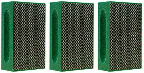 Hand Polishing pads (3 Pack, Grit 60 (green)) ()