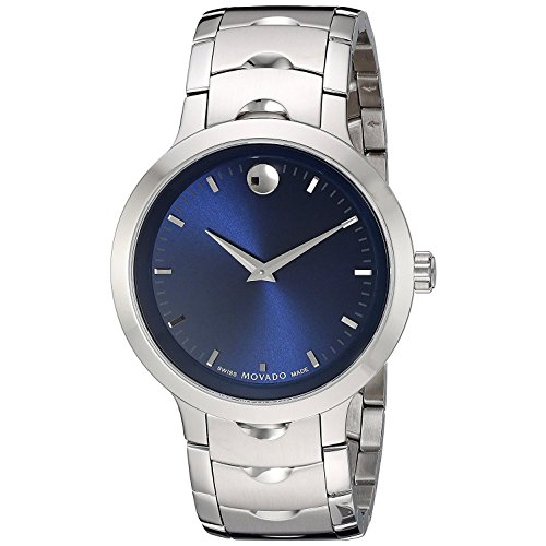 (Movado Men's Swiss Quartz Stainless Steel Watch, Color: Silver-Toned (Model: 0607042))
