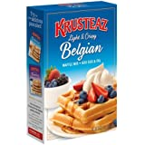 Krusteaz, Belgian Waffle Mix, 28oz Box (Pack of 2)