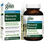 Cheap Gaia Herbs Women's Balance, Vegan Liquid Capsules, 60 Count – Hormone Balance for Women, Mood and Liver Support, Black Cohosh, St John's Wort, Organic Red Clover, Alfalfa & Dandelion Root