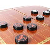 KREPLACEMENT® Chinese Chess Traditional China Xiangqi Acrylic material 38MM L Size Outdoor Travel set Festival gift, With foldable chess board / box , Top quality