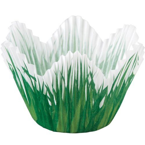 Wilton Petal Grass Shaped Baking Cups, 24-Pack