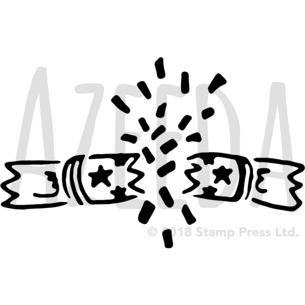 Christmas Cracker Template.Azeeda A4 Christmas Cracker Wall Stencil Template