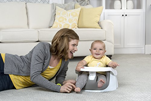 Regalo Grow with Me Floor Seat and Activity Chair with Removable Feeding Tray, Cool (High Back Rocker)