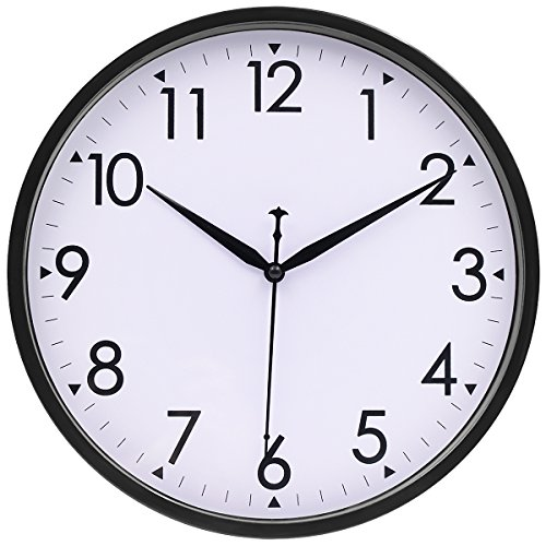 Silent Wall Clock Non ticking Classic