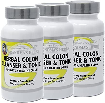 Herbal Colon Cleanser All Natural Toxin Bowel Cleanse 100 Caps 3