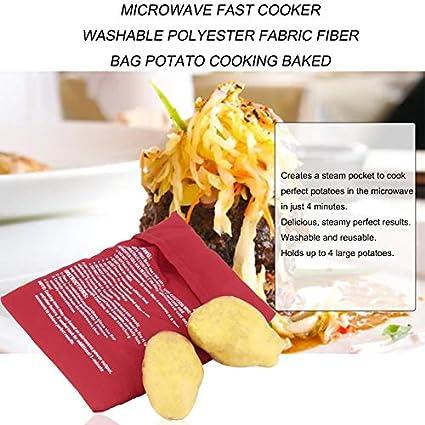 Deasengmins Microondas Cocina rápida Tejido de poliéster Lavable ...