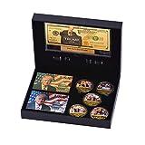 SW 5 PCS Trump 2020 Commemorative Coin, 24k Gold