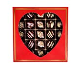 Valentines Day Chocolate Gift Love Box, Finest Gourmet Chocolates, Great Happy Birthday Gift