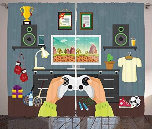Lunarable Gamer Curtains