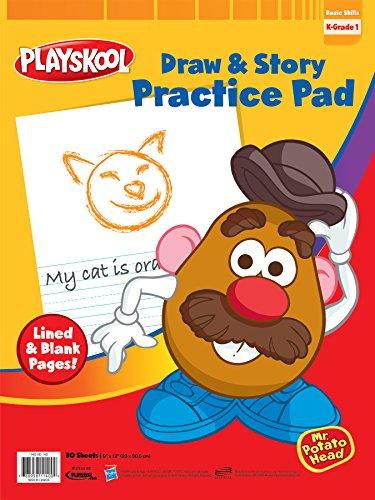 - Playskool 9 x 12-Inch Draw and Story Pad