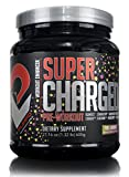 • PUMPD Labs SUPER CHARGED Pre-Workout Powder Mix • 30 servings- Powerful all-in-one Pre-Workout formula designed to help you get everything you need out of your training - 600g