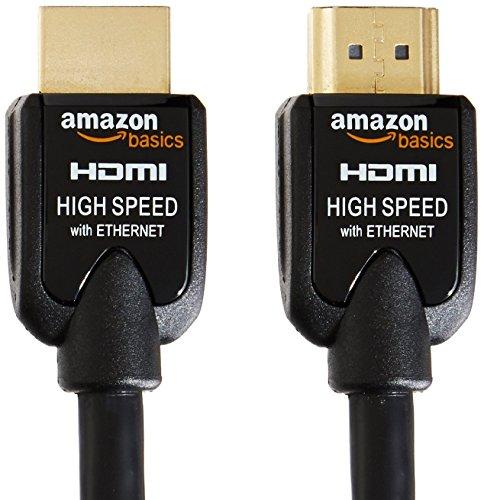 AmazonBasics High Speed HDMI Cable